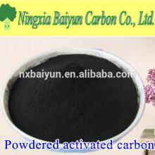 Approvisionnement en usine à base de charbon actif en poudre 200 mesh