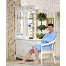 Factory wholesale hotel cheap Royal Bule Men's bathrobe