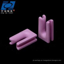 Peças de u-tipo de cerâmica cerâmica rosa