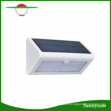 3 modos de iluminación 38 LED luz solar para jardín