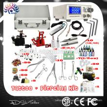 Portable et pratique professionnel Piercing kit de tatouage et piercing et kit d'outils de bijoux