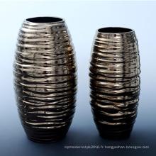 Vérin d'arrangement de fleurs en céramique et en porcelaine, articles d'ameublement de maison Salon Salle à manger Décorer artisanat (B11)