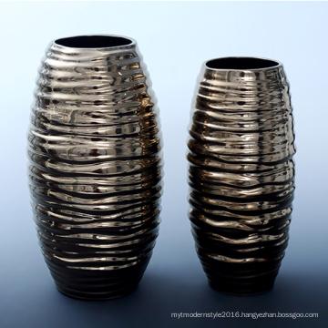 Pottery and Porcelain Flower Arrangement Vase, Household Furnishing Articles Sitting Room Dining-Room Decorate Handicraft (B11)