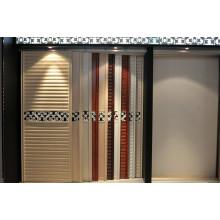 Porte coulissante en aluminium avec design classique