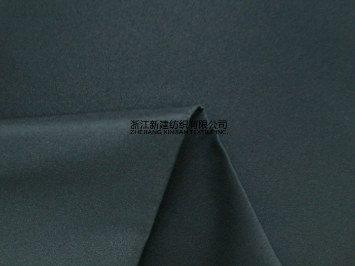 100% Polyester Navy Blue Peach Skin-like Fabric