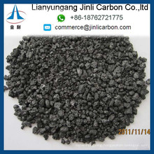 high quality China calcined pitch coke S 0.2% carbon additive