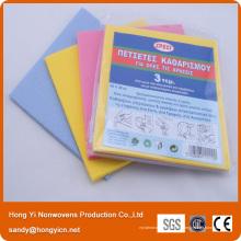 Tout le tissu non-tissé utilisé, tissu de nettoyage de tissu non-tissé perforé par aiguille