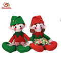 China Custom Mini Cute Plush Elves Soft Christmas Doll Plush Elf Toy