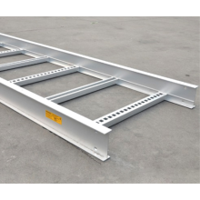 Sistema de apoio de alumínio da bandeja da escada do cabo da liga das telecomunicações