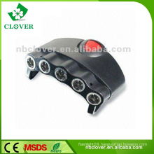 Wheel tire valve cap flash led light solar post cap light 5 led cap light