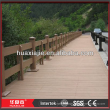 WPC waterproof interlocking composite decking
