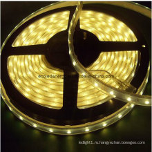 IP68 60SMD5050 Тепло-белая светодиодная лента, 14,4 Вт / м