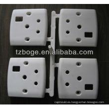 molde de botón de interruptor de pared de plástico