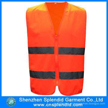 Vestuário de trabalho por atacado colete de segurança reflexiva de alta visibilidade