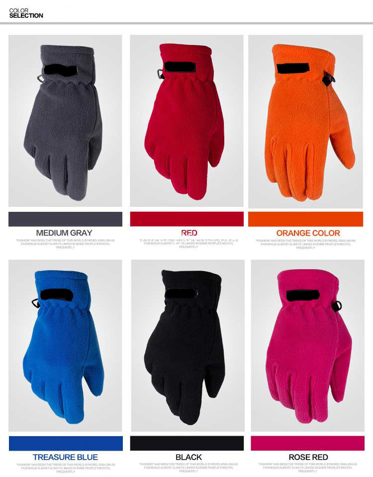 Thinsulate Fleece Gloves pour l'hiver