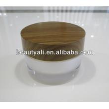 Double paroi en acrylique en bois 2 ml 5ml 10ml 15ml 30ml 50ml 100ml