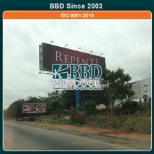 Best manufacturer large outdoor pretty design custom advertising billboard poles