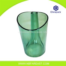 Full color printing clear plastic ice bucket