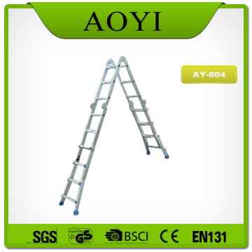 Aluminum folding little giant ladder