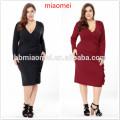 Dernières Vente Chaude De Mode Convertible Multi Way Wrap Robes De Cocktail Robe Bandage De Demoiselle D'honneur Plus La Taille