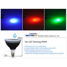 Dimmable RGB PAR38 with Wireless Contorlled (bluetooth)