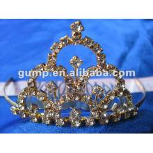 Crstal tiara comb (GWST12-102)