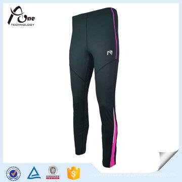 Spandex Tights Women Nylon Leggings with Zipper