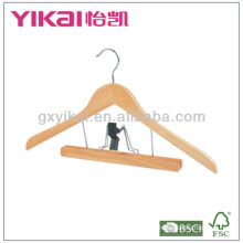 Clothes Hanger with trousers clamp