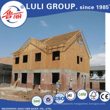 1220X2440X15mm OSB Board for Construction Usage Melamine Glue