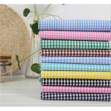 Окрашенная пряжа проверки ткани для одежды или текстильных