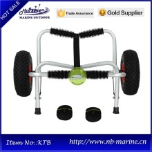 Trolley with wheels, Canoe trolleys on wheels, Two wheels beach cart