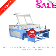 Jeans Denim Laser Engraver Machine SG1390 with Auto-feeding