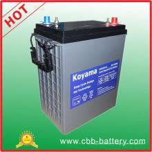 Batería de gel de ciclo profundo 310ah 6V para vehículo recreativo
