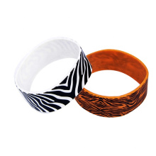 Customized 1 Inch Printing Silicone Wristbands for adult