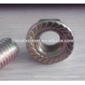 Flat Head Socket Bolt With Hex Flange Nut