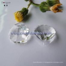 Coquillages chauds de vente en forme de lustre goutte cristal Bijoux Perle
