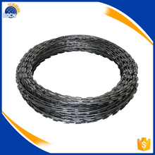 high quality pvc razor barbed wire