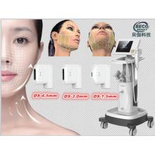 Machine de beauté de rajeunissement de peau de Hifu d'ultrason focalisé de forte intensité 2014 (FU4.5-2S)