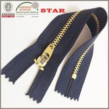 2016 Brass Slider Zipper for Garments