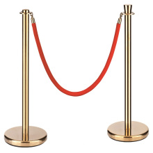Acier inoxydable de haute qualité en gros Croed Control Barrier Rope Post