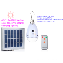 2.5W Solar Battery Charge Light with 5 Lighting Class