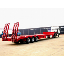 Tri axle Heavy duty low loader semi-trailer