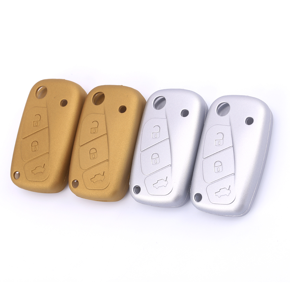 fiat silicone car key case