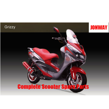 Jonway Grizzy Repuestos Scooter completo Repuestos originales
