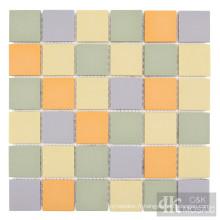 Carreaux de dosseret de mosaïque en céramique colorée