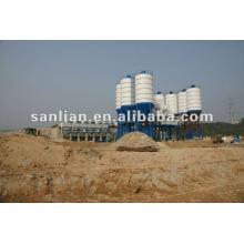 Estação de mistura de concreto