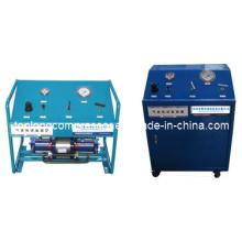 Bomba de llenado de alta presión del compresor de alta presión del aumentador de presión de aceite sin aceite (Tpds-25)