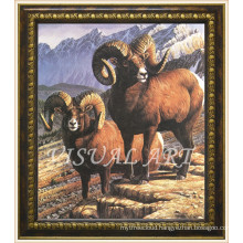 Home Goods Vintage Style Sheep Painting Frame