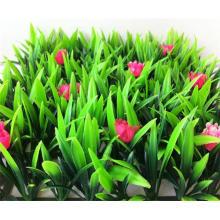 Prix de l'herbe de tapis artificiel de jardin de nature avec des fleurs