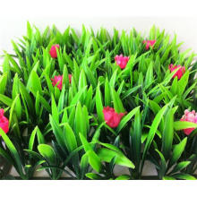 Nature garden artificial carpet grass price with flowers
